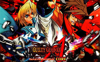 GUILTY GEAR XX ΛCORE 雑誌広告