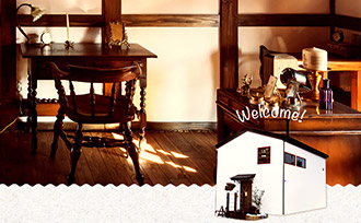 ANTIQUE&CAFE TiTi Webサイト